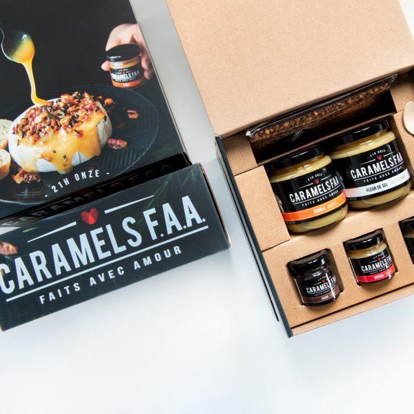 Boite d'arômes caramels de Caramels F.A.A