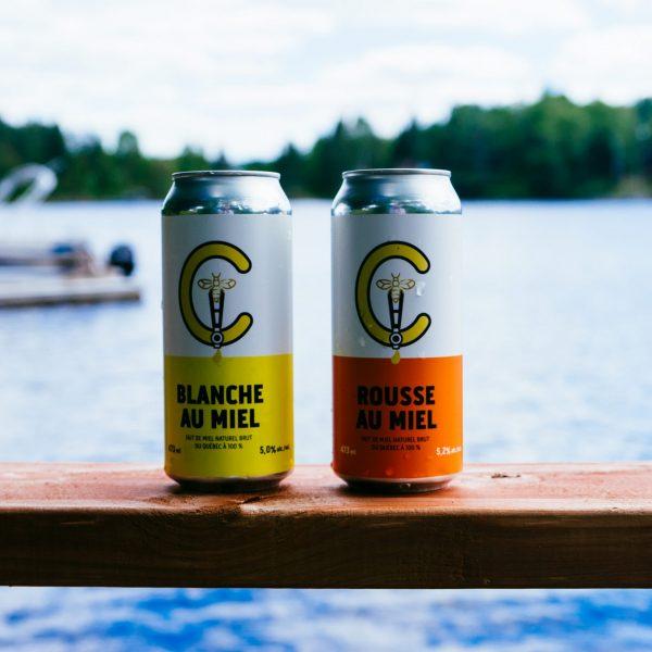 Bières au miel Ca Brasse Instagram Réverbère